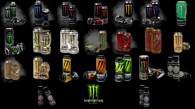 Types Of Energy Drinks