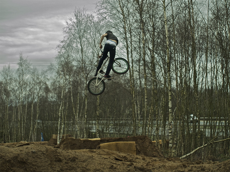 some boys came from worthing/spook trails. and decided to send it