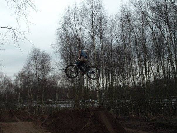 yes i do ride a bmx. but i find moto whips easier on a 26