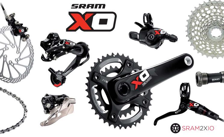 2011 SRAM XO component group