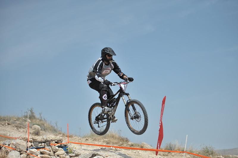 The faster rider of the course - Marios Antoniou