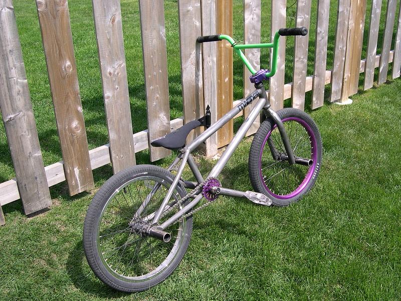 My bike. No it's not a macneil, the sticker is a joke get over it.
