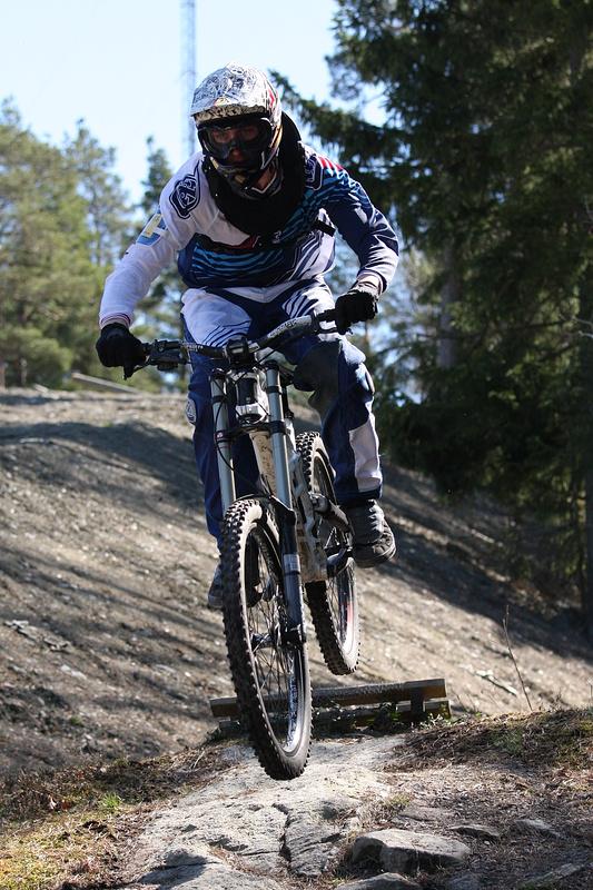 DH in Ale-bikepark