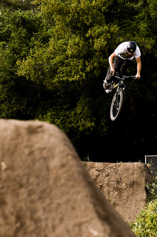 Cam McCaul, about to give birth to his first bike shop.