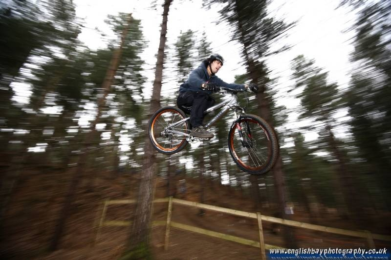 Tom Dowie training at Chicksands