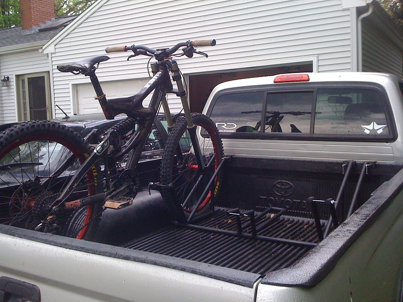 Custom Truck Bed Bike Rack For Sale