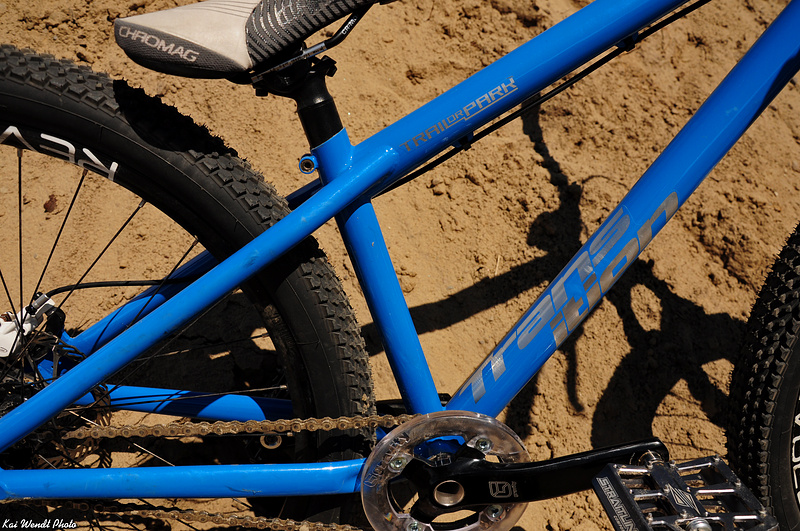 His 2011 Transition Trail or Park frame