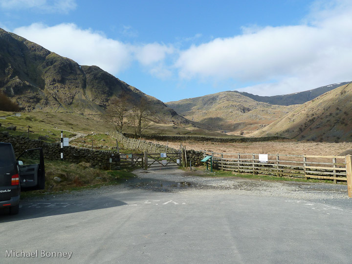 View from the car park