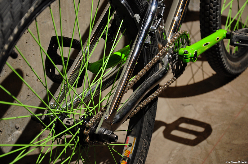 """09 Eastern Traildigger 24""""...Bmx hubs with 25 to 10 tooth gearing"""