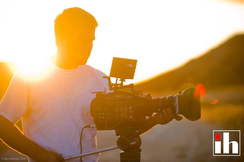 Dustin filming