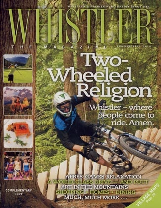 Cover of Whistler Mag Summer 2010