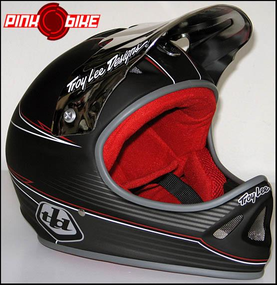TroyLeeDesigns D2 Black Top