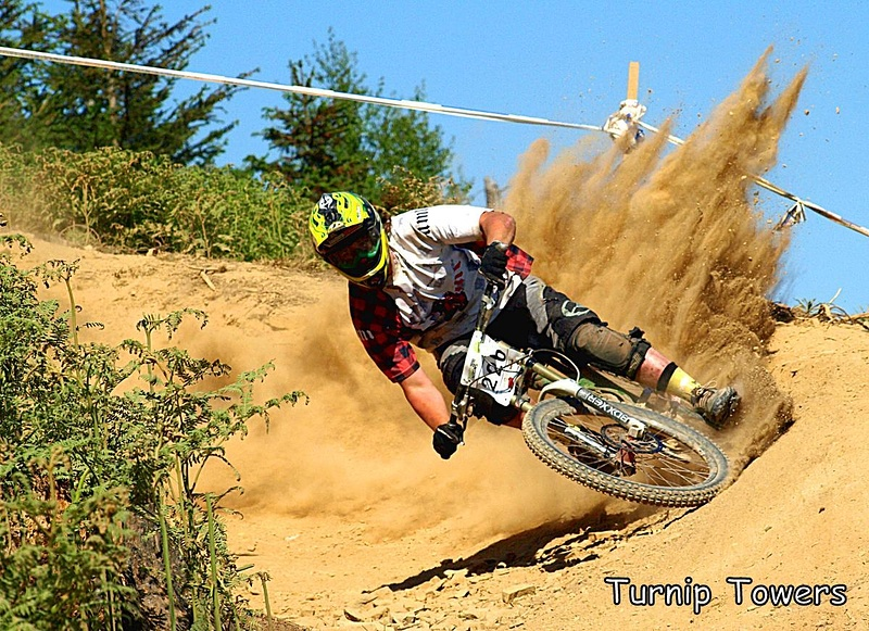 Dust Was A Big Issue For Riders And Media