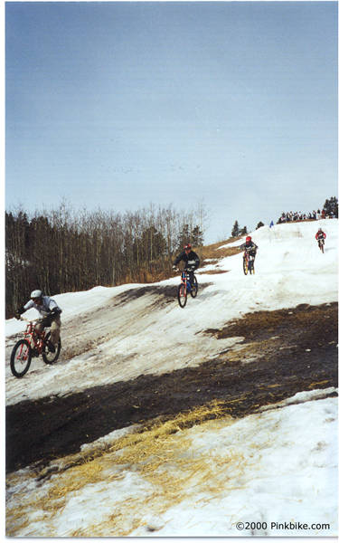 Taken at the Wintergreen Biker Cross on April 1, 2000.