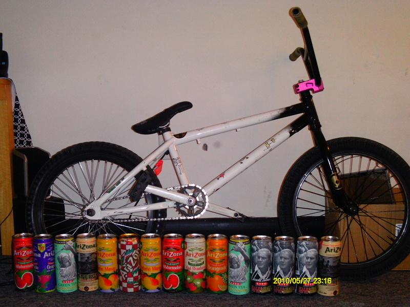 my bike and a weeks worth of arizona