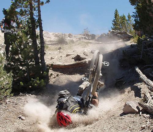 Mountain Bike Spine Injuries