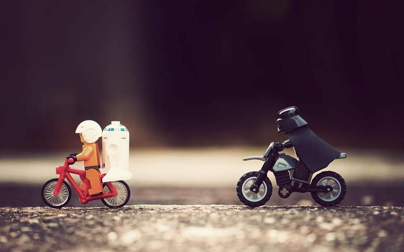 Luke i am your father!!! do not run away!!! Come to daddy !!!