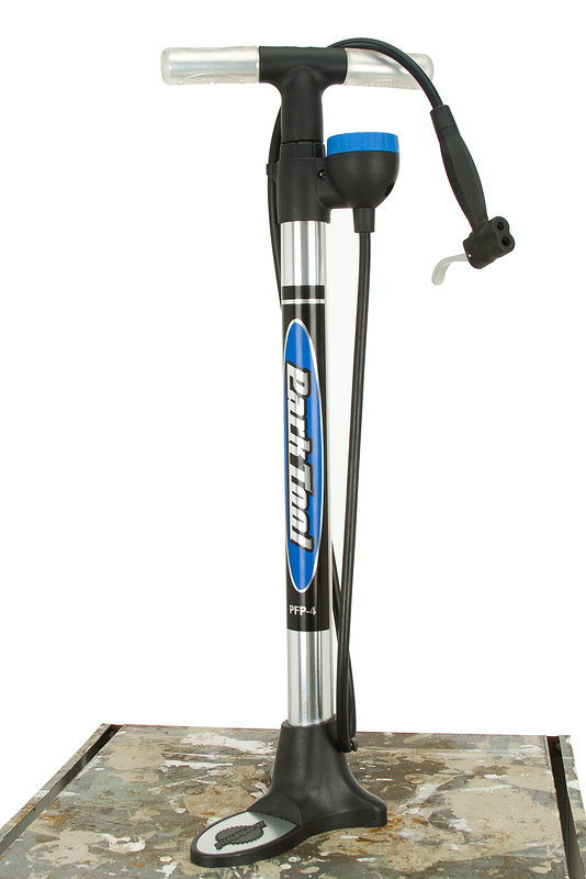 A floor pump is all you need to seat some tubeless setups