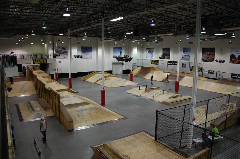 Various at vans indoor skatepark orlando fl in stoke on for Indoor skatepark design uk