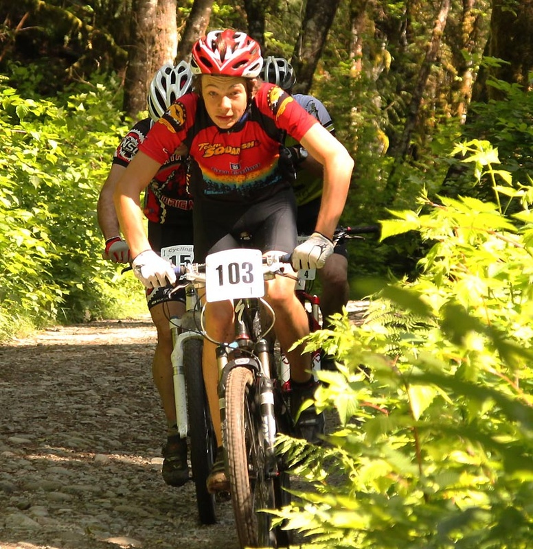 Squamish keeps turning out strong fast riders; Fisherman's Trail