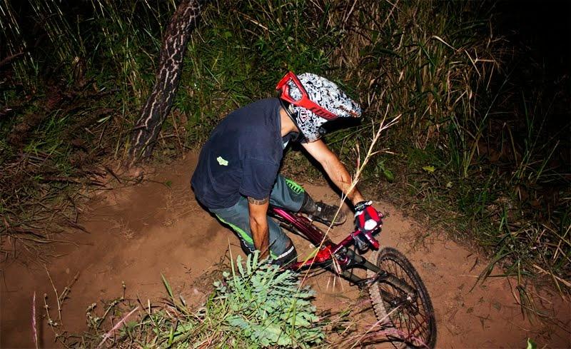 Trainning ride at night!