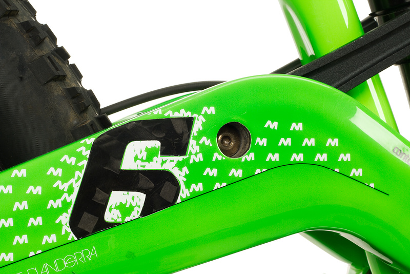 Commencal Meta6 - Carbon rear swingarm.