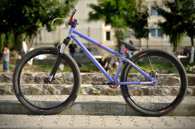 Bike update.Intense micro Knobby, BlackMarket BadaBoom Bar and eastern seat