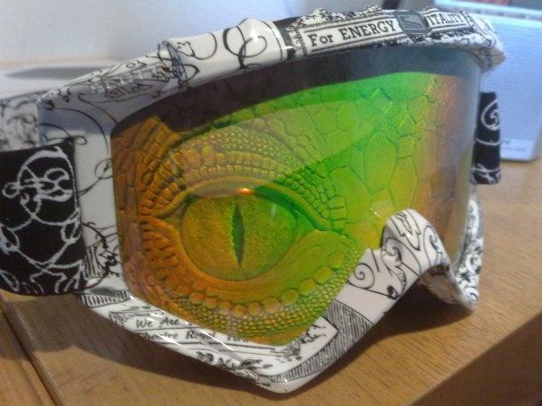 Berna84 at my scott 89xi goggle frame + hologram 89 series le in ...
