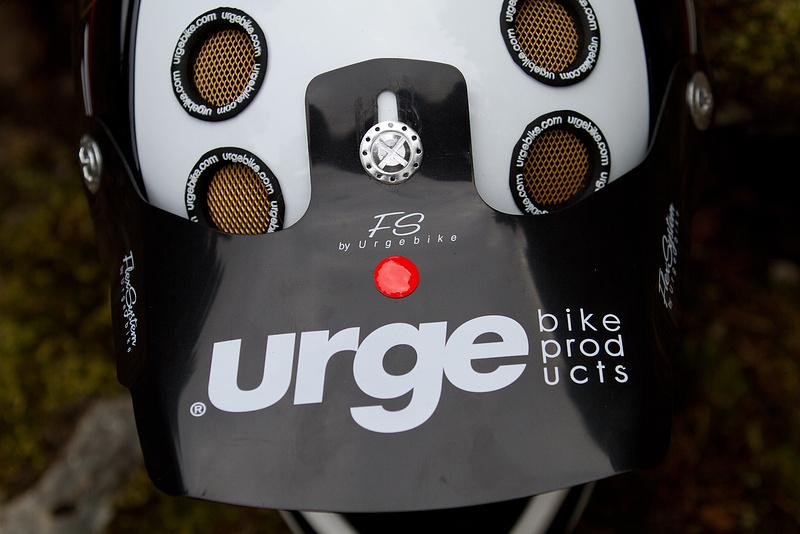 The Down-O-Matic's soft visor should be virtually smash proof, plus it makes you look a bit like Bob Hannah!