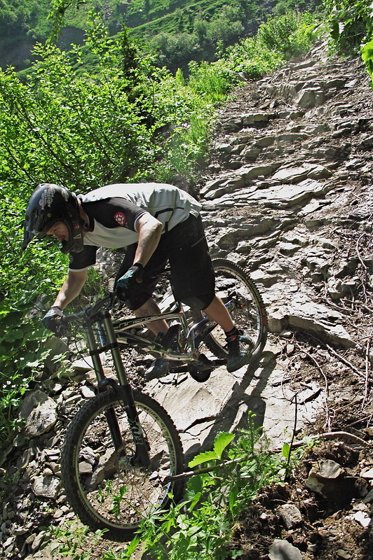 Chatel has plenty of proper terrain worthy of a proper DH race bike