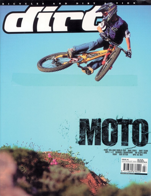 12 year old Tyler McCaul making onto the cover of Dirt with some sick moto style...
