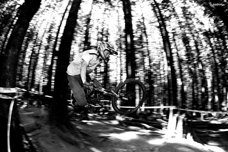 Ripping the DH course