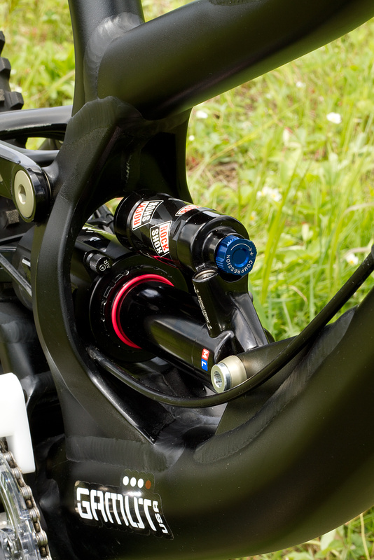 All new 2011 Specialized Demo 8 - linkage detail.