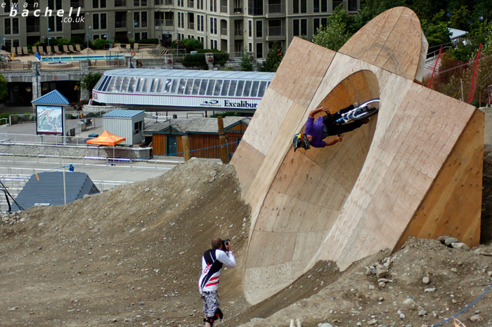 Riders from Camp of Champions, Whistler Bike Park.