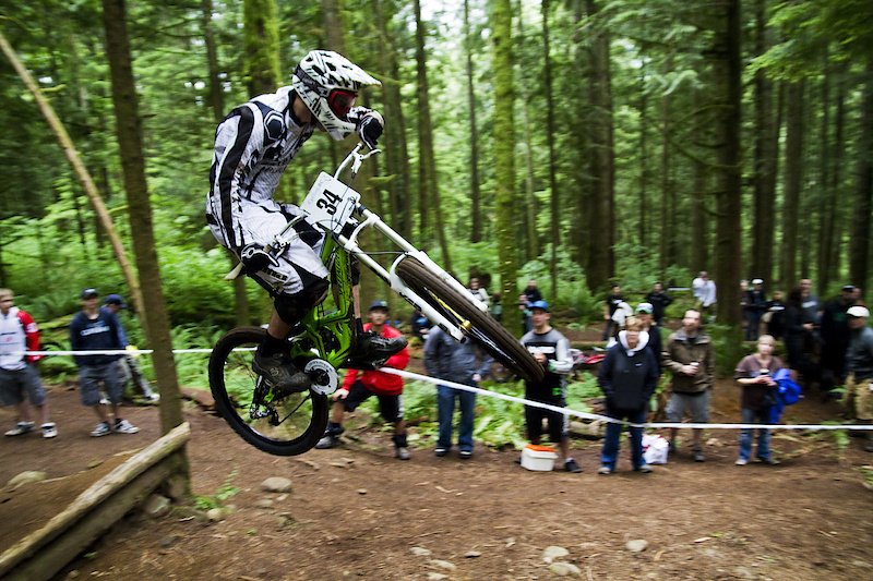 Cole Carter styling one of the last jumps
