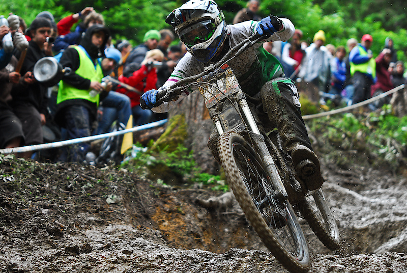 the best ripping it in the mud at leogang
