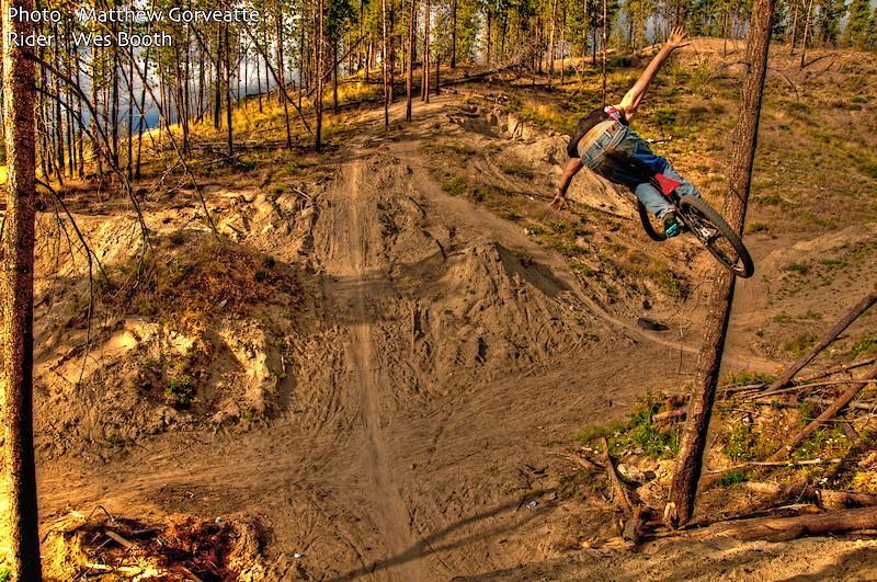 Rider Wes Booth Photo By Matthew Gorveatte