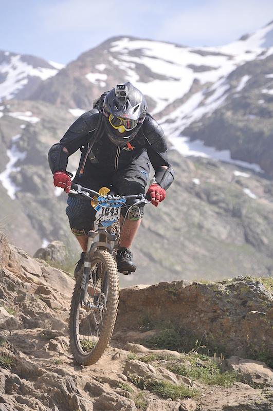 John On The Slopes of Alp D'Huez