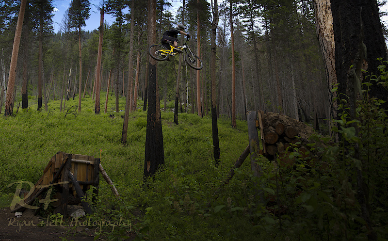 rider: Mike Kinrade Photo: Ryan Flett