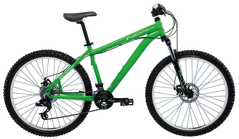 2011 Norco Katmandu Green - $545USD, $575CDN, Avail. Sept.