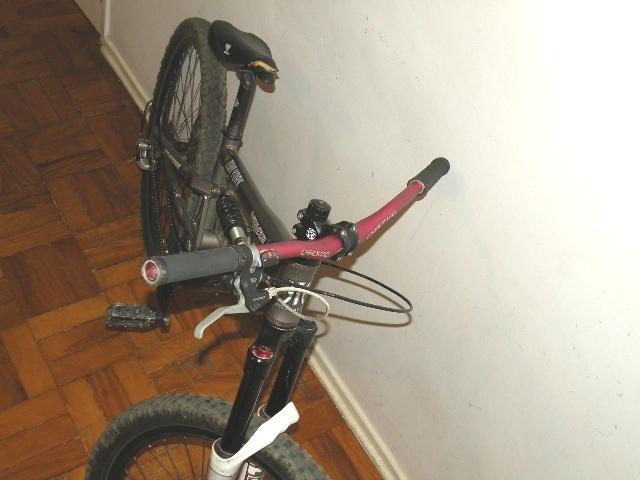 pink chromag in my bike