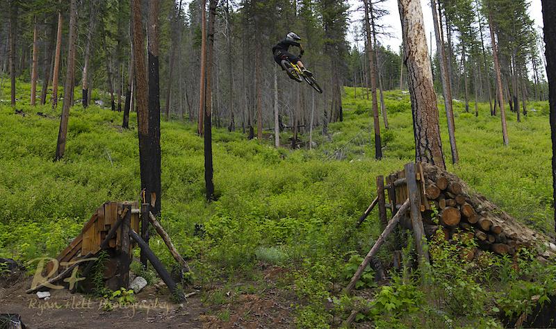 Photo: RYAN FLETT Kinrade whipping the TR450