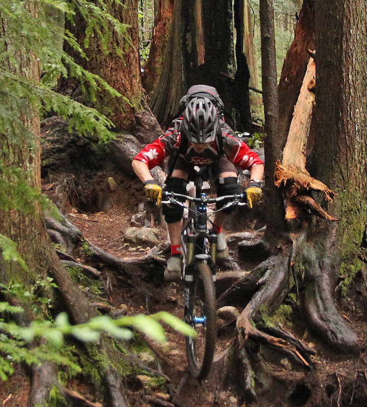 Some of the trail has easier re-routes; but the rooted tech-fest of the Shore still remains for those who can ride it