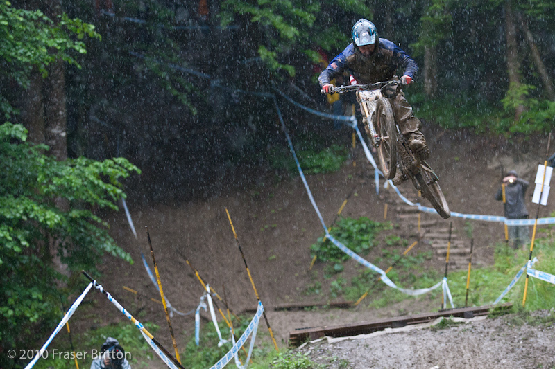 Qualifying day action from the 2010 Champery World Cup.