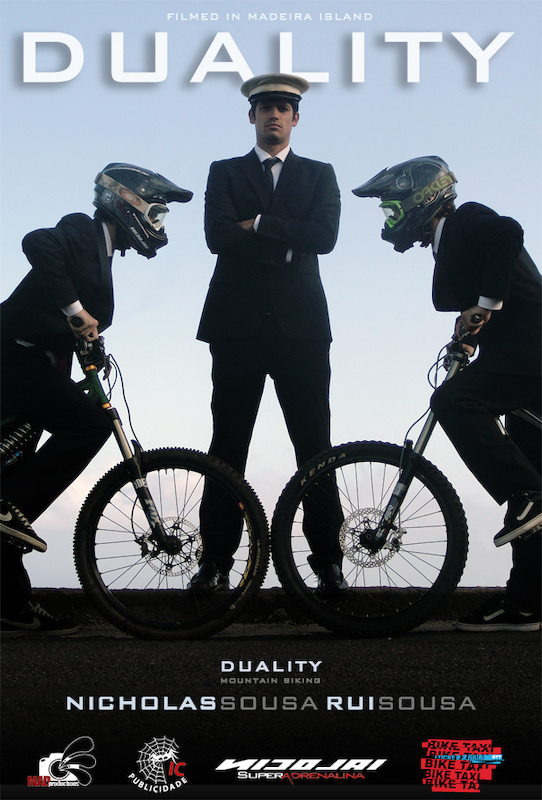 'Duality' is the new MTB movie by MADproductions featuring Nicholas Sousa and Rui Sousa. Thank you to IC publicidade, Nicolai Super Adrenalina and Bike Taxi.  Join us: http://www.facebook.com/themadproductions
