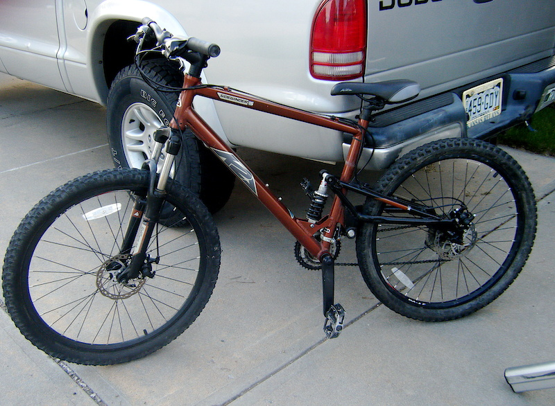 K2 Sidewinder Ds Mountain Bike For Sale