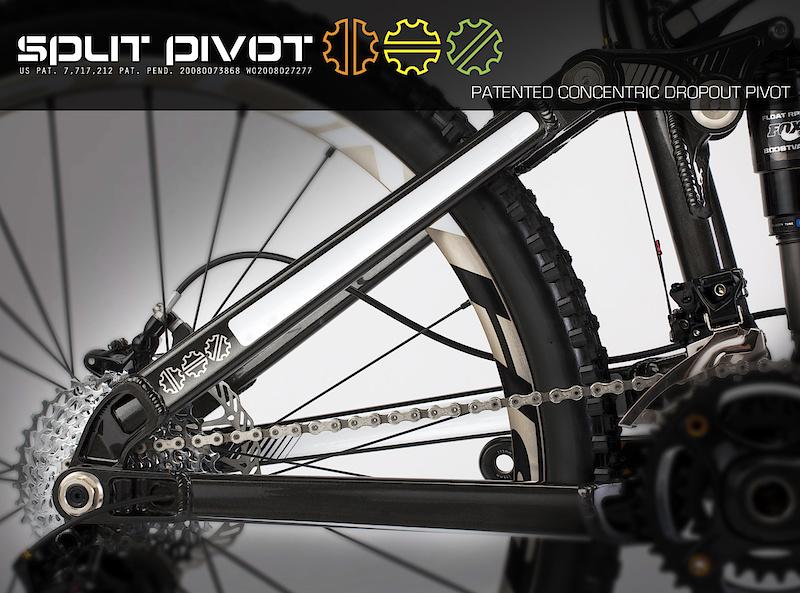 Devinci trail bike with Split-Pivot
