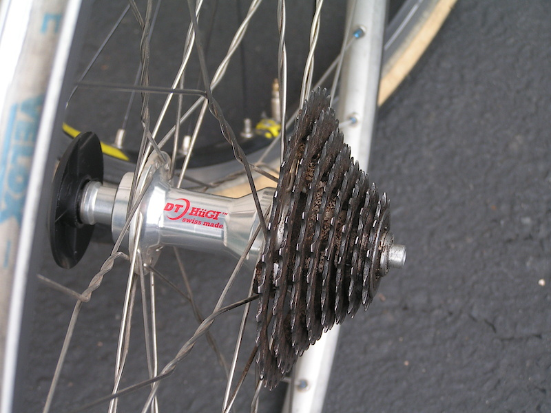 Note the twist a spoke !!S.E.Portland slacker