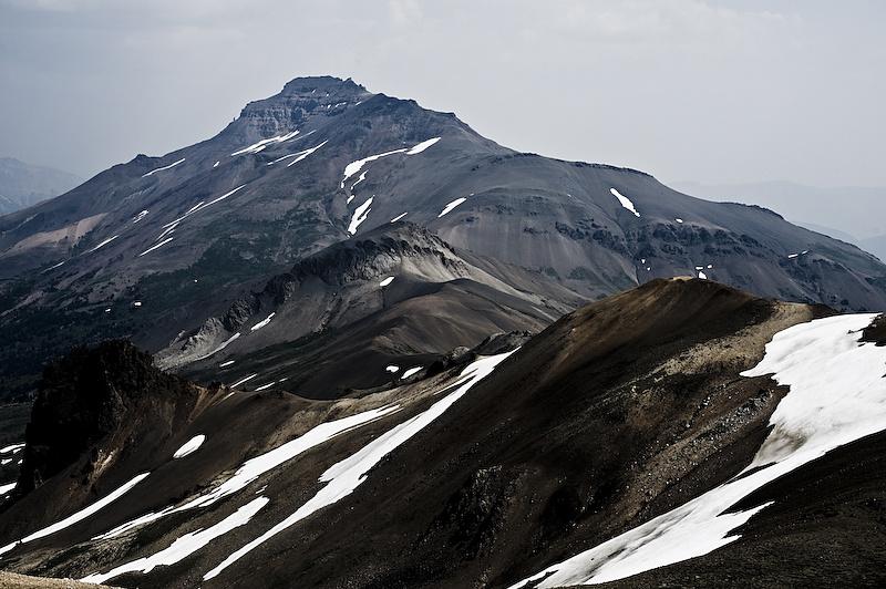 Some really big mountains.