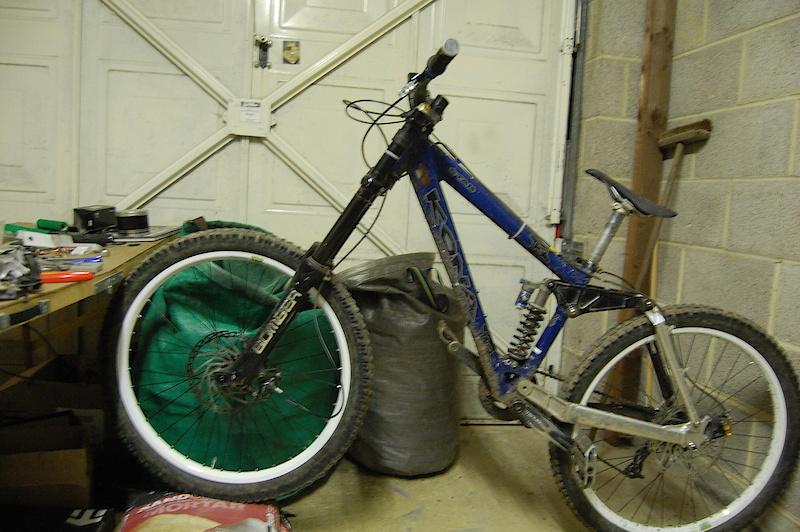 new wheel set on :)